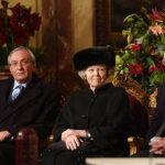 Queen Beatrix surounded by my floral arrangements - Blooming Vision